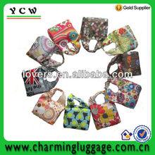 full color printed shopping bag/foldable shopping bag