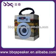 Portable Wood Speaker multimedia Player System
