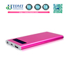 Rechargeable slim aluminium 5V 1A external battery mobile charger 4000mah universal Portable power bank charger new product 2014