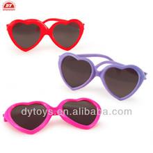 ICTI factory 2015 plastic heart glasses