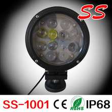round,LED light Bar 7 inch CREE 60 Watt,automobile for Off Road,SUV,UTV, ATV, 4WD, 4X4 Vehicle ,Truck, Jeep,Boat,SS-1001