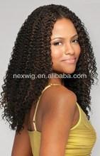 Fashion 100% Kanekalon Futura Hair Brazilian Curl Weaving