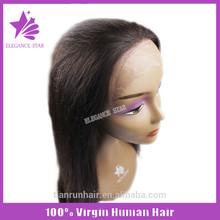 Online shopping on Monday Elegance Star long natural black wigs 100 brazilian virgin human hair full lace wig