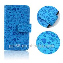 cute cartoon flip cover for samsung galaxy grand duos i9082 i9080 case
