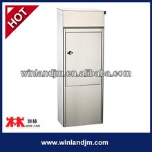 Free Standing Stainless Steel Metal Mailbox
