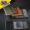 Hot Sales PU Leather Hardcover Notebook with long magnet closure decoration for sheets notebook