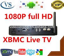 2014 New Quad Core Amlogic8726-MX xbmc Android tv box dvb-t2 iptv solution