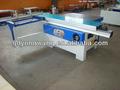 1600mm tabela de deslizamento painel saw, base de madeira do painel da máquina de corte