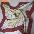 Oem foulard de soie papillon
