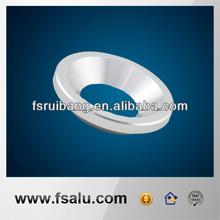 high gloss aluminum parts for LED light