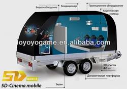 mini truck mobile 5d cinema
