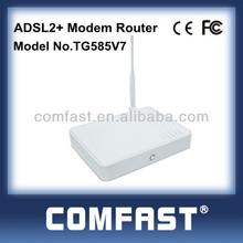 Thomson V7 4 ports 54m wireless adsl2 modem router ADSL COMFAST TG585V7