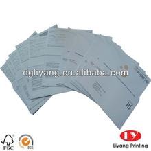 custom gift envelope printing design
