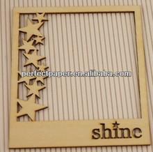 Laser Cut Wood Frame, Wood Photo Album, Wooden Frame