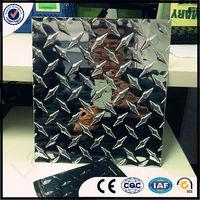 Aluminum checkered plate/sheet for trailer/alumnium diamond plate