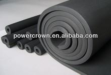 Negro NBR espuma de la pared de goma aislamiento de espuma