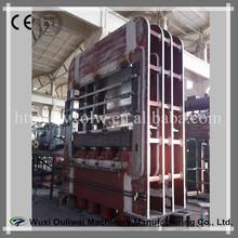 MDF door skin hot press ouliwei/ door forging press