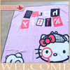 soft feel 100% polyester Eco-friendly high quality low price cartoon coral fleece blanket