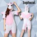 De China proveedor 2014 contemporánea para adultos Pink Unicorn Animal patrón de manga corta de verano de noche vestidos las mujeres