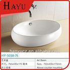 HY-5038-75 Fancy ceramic bid size outdoor sink table