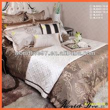 WLB063 Handmade Jaquard Bedding Quilt Set