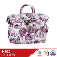 Vintage Floral Printed Handbags