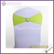 wholesale 2014 new fashion promotional production spandex chair sash manufacturer