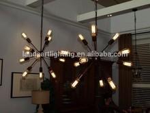 Rustic Retro Pendant Lamp with filament edison bulb