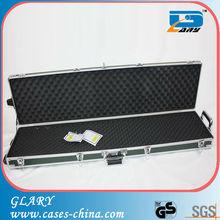 Heavy-duty Aluminum Gun Carrying Padded Case