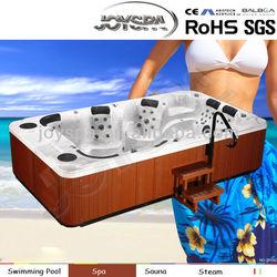 outdoor spa 8 person, massage sex videos, whirlpool hydromassage bathtub- JY8001(factory)