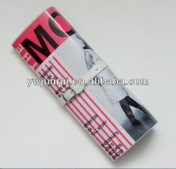 New arrival photo print bag PVC fabric color print evening hand bag