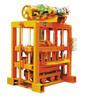 QTJ4-40II Small concrete Block Making Machine (with mixer)