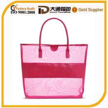 cheap custom mesh beach bag