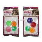 Pet accessories Glitter ball 4pcs cat toy