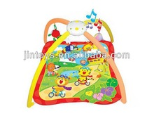 Educational Baby Play Gym Mat With Light and Music,Musical Baby Play Mat