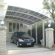 High waterproof aluminum protective car shelter