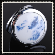 The price that make you move,mountains-and-waters painting cosmetic mirror,A variety of patterns to choose from