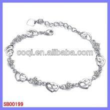 free sample stainless steel bracelet alice in wonderland charm bracelet