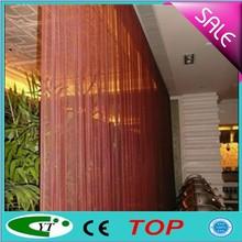 Fashionable modern metallic decorative curtain