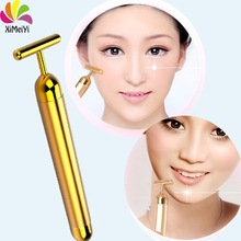mini electronic 24k gold face slimming beauty bar for skin care
