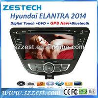 Zestech new product car radio gps 2din dvd cd for Hyundai Elantra dashboard