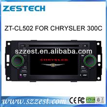 Zestech auto parts car dvd players gps system for chrysler 300c