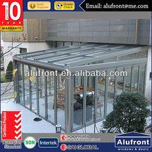 New Design Aluminium Alloy Garden Glass Sun Room for Solarium
