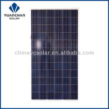 Yuanchan Polycrystalline 280watts PV Poly Solar Panel price