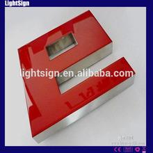 Resin led channel letter signs, led epoxy resin letter