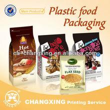 food packaging plastic bag for food package(customize logo/printing plastic food bag)