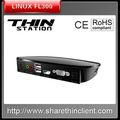 Compartilhar pequeno computador linux FL300 CPU dual 1gz, Ram 512 mb, Apoio HMDI reprodução de vídeo incorporado linux FL300