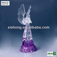Fashionable Acrylic angel decoration for Christmas, wedding