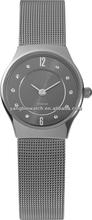two hand alloy strap titanium case quartz watch water resist 5 bar watch women fashion watch