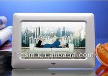 Certificates approved 7inch digital photo frame with motion sensor picture slideshow frame digital album